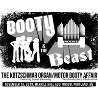 • Booty &the Beast: James Kennerley with Motor Booty Affair